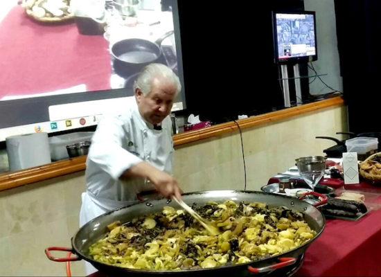 Taller gastronómico a cargo de Antonio Gázquez