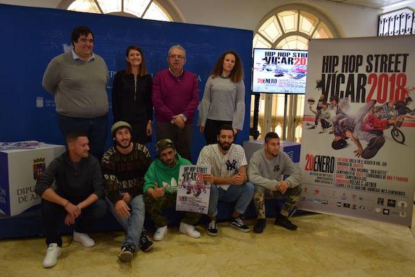 Presentación de la XIV edición del Hip Hop Street Vícar