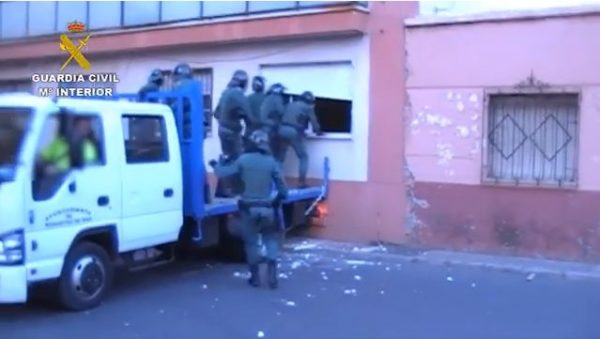 Operación Aztecli. Guardia Civil.