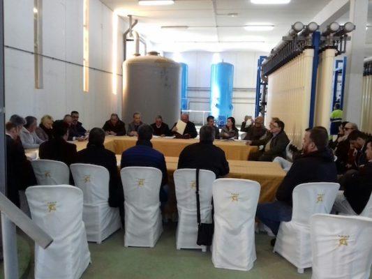 Reunión en EDAR El Ejido Junta general Consorcio