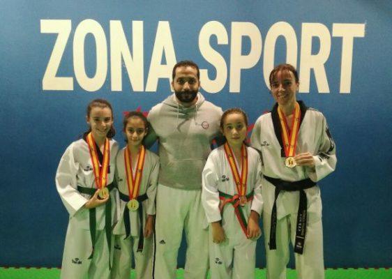 El taekwondo almeriense triunfa en el Campeonato de España
