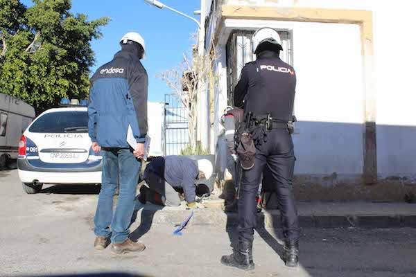 Endesa y Policía