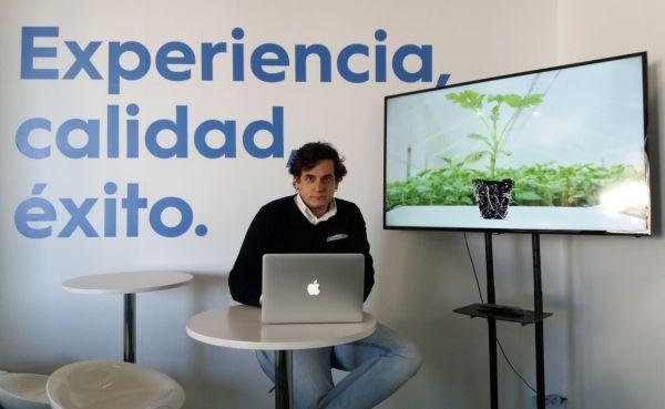 Luis Flores, Cristalplant