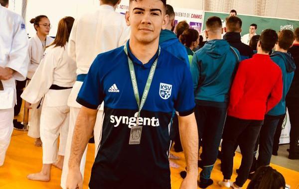 Raúl Morales, subcampeón de Andalucía de judo