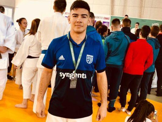 Raúl Morales. Judo