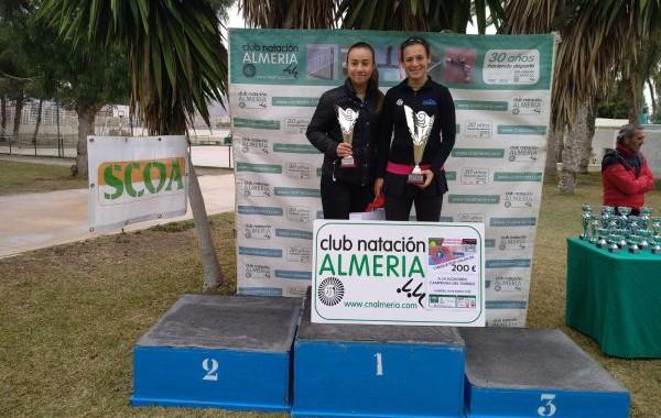 La ejidense Silvia Vargas gana el torneo del Club Natación Almería
