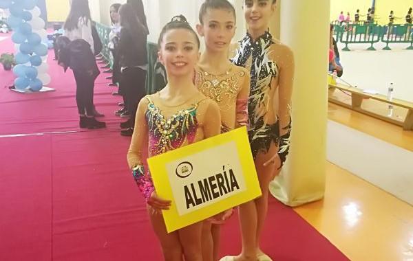 Tres gimnastas del Club Diamonds de Pulpí, clasificadas para el Campeonato de España
