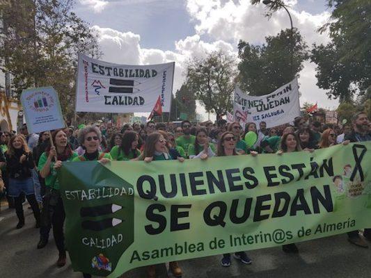 Interinos de Almería