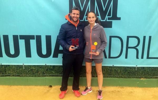 María Dolores López gana en Sevilla y disputará el Madrid Open sub´16