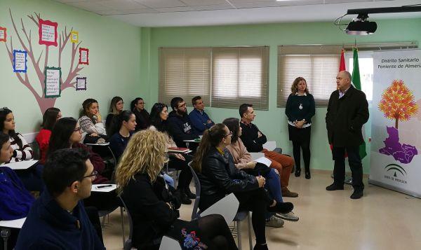 Estudiantes de Enfermería de la UAL se incorporan a los centros de salud del Poniente en prácticas