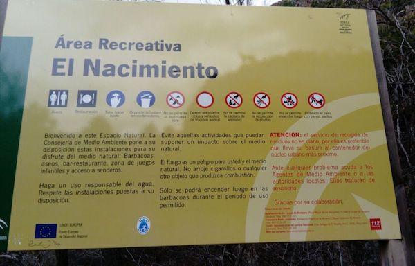 Area recreativa El Nacimiento