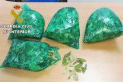 Intervienen en el aeropuerto de Almería 1200 gramos de hojas de coca