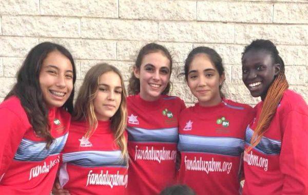 Cinco jugadoras del Club Balonmano Roquetas convocadas por la selección andaluza