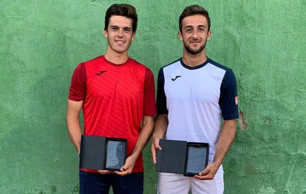 Javi Barranco y Benjamín Winter ganan el doble en Melilla