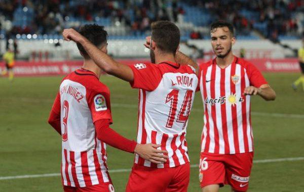 El Almería gana al Reus en la Copa del Rey