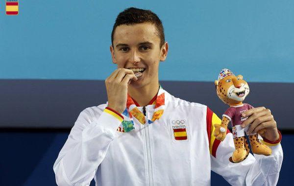 Manuel Martos, bronce en los Juegos Olímpicos de la Juventud