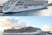 Los cruceros 'Marina' y 'Norwegian Spirit' hacen escala en Almería con casi 5.000 viajeros