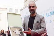Luis Tosar recibe el homenaje de Almería,