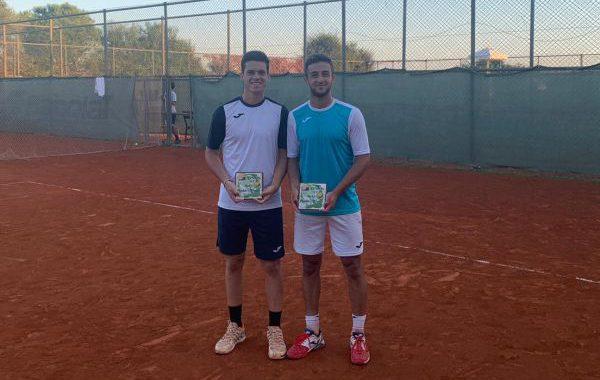 Los tenistas almerienses Javi Barranco y Benjamín Winter triunfan en Turquía
