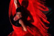 Sara Baras presenta su último trabajo 'Sombras' en el Centro Cultural de Adra