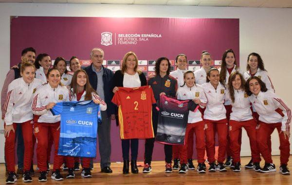 Níjar acoge los amistosos España-Rusia de fútbol sala