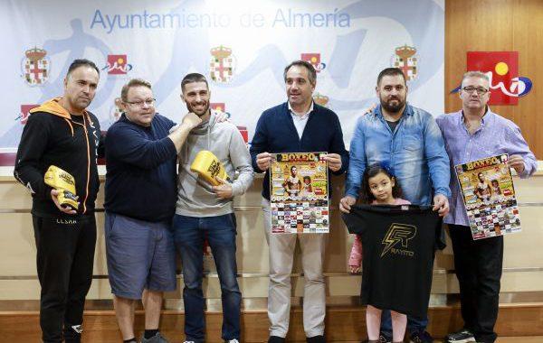 Almería celebra una velada de boxeo con un objetivo solidario