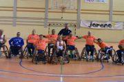 Cludemi, segundo en la Copa andaluza en silla de ruedas