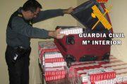 La Guardia Civil interviene 2.980 cajetillas de tabaco sin precintar en Almería