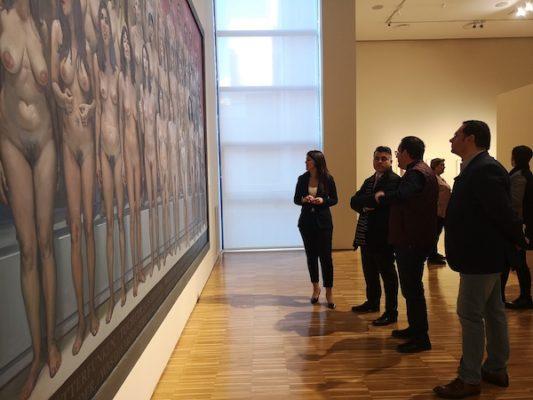'La fraternidad universal' de García Ibáñez viaja al Museo de Bellas Artes de Murcia