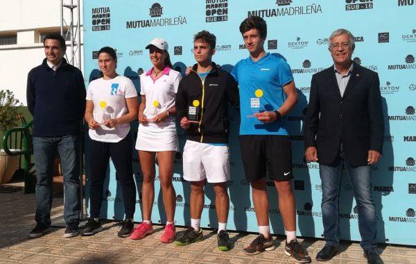 Alejandro Manzanera y María Berlanga ganan en la cita del Mutua Madrid Open de Almería