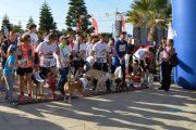Más de 150 personas corren con sus perros en la San Perruna 2018 de Almería