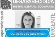 Localizada en buen estado la mujer de 34 años desaparecida en Níjar