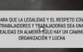 """Denuncian el reiterado incumplimiento del convenio y la falta de respeto hacia los trabajadores en """"algunos centros de manipulado de frutas y hortalizas de Almería"""""""