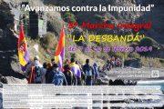 La Desbandá llega este sábado a Almería con casi un centenar de senderistas