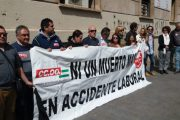 Los sindicatos alertan del número de muertes en accidente laboral en Almería, cinco en lo que va de año