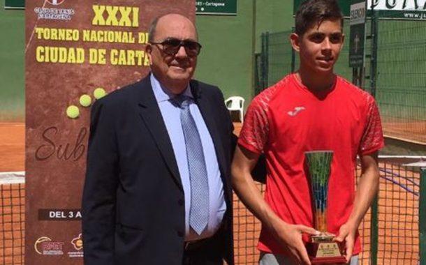Carlos Guerrero, finalista en el torneo de Cartagena
