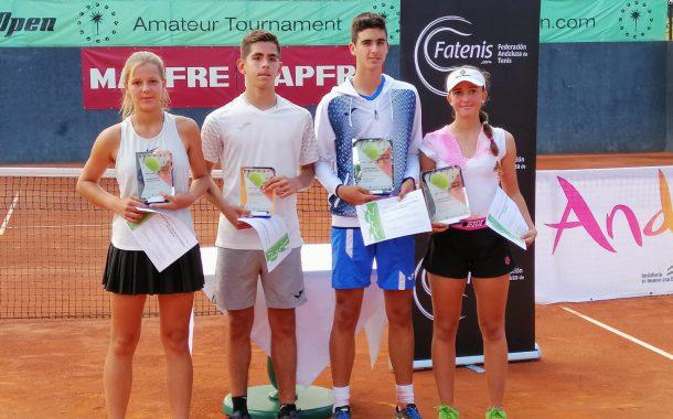 Dos victorias y una final para el tenis almeriense en el Campeonato de Andalucía cadete