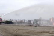 Un simulacro de accidente aéreo en el aeropuerto de Almería pone a prueba a los servicios de emergencia