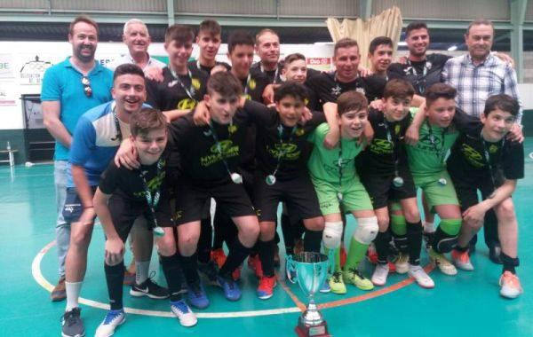 CD El Ejido, campeón de Andalucía infantil de fútbol sala