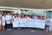 Personal sanitario se moviliza contra la última agresión a tres trabajadoras del Hospital Torrecárdenas