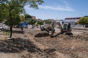 Comienza la implantación en Almería del primer huerto urbano municipal en el barrio de Villamaría