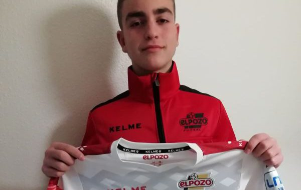 El huercalense Domingo Sánchez, campeón de España infantil de fútbol sala