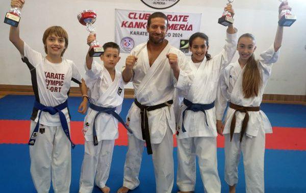 El Club Kárate Kanku se proclama campeón de España por equipos en categoría infantil