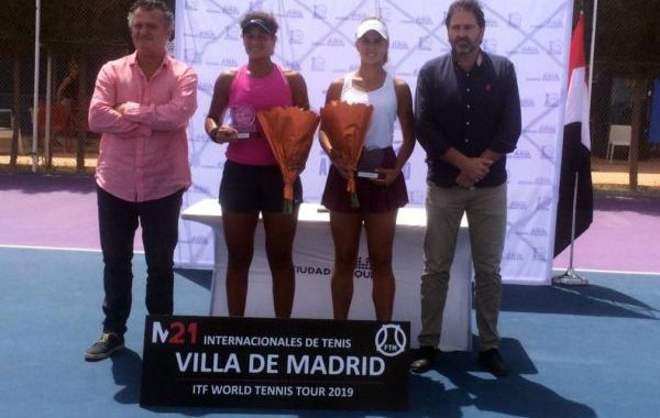 La tenista Eva Guerrero logra el mejor resultado de la temporada