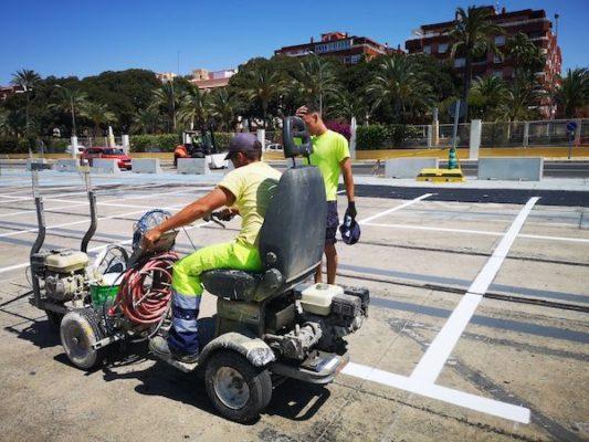El puerto de Almería gasta 300.000 euros en obras de acondicionamiento para la Operación Paso del Estrecho