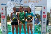 Camilo Puertas y Rocío Molas ganan el Triatlón Ciudad de Almería