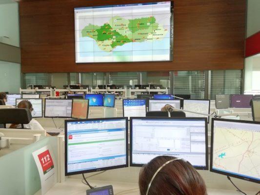 Sala de control del 112