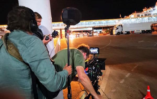 El puerto de Almería acoge la grabación de una película para una televisión de Holanda