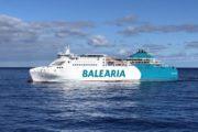 Baleària refuerza la ruta entre Almería y Nador