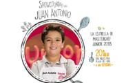Juan Antonio de MasterChef Junior ofrece este sábado en Almería un showcooking gratuito